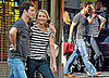 Photos of Cameron Diaz and Paul Sculfor in NYC
