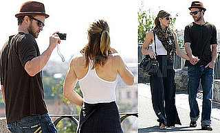 Photos of Justin Timberlake and Jessica Biel on Vacation in Rome