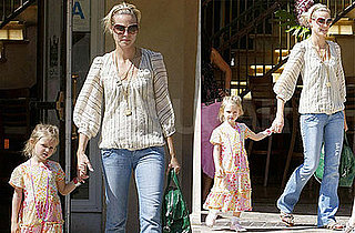 Photos of Heidi And Leni Klum Out Shopping in LA
