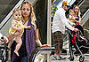 Photos of Nicole Richie, Joel Madden, and Harlow Madden