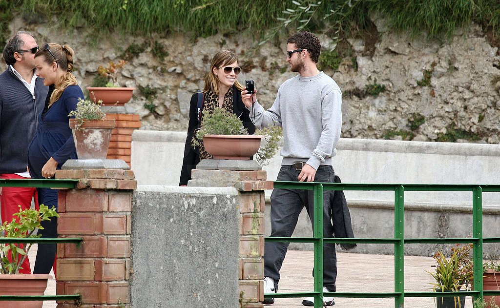 Jessica Biel at Wedding Rehearsal