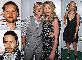 Photos of Ellen DeGeneres and Portia De Rossi Proposition 2 Party