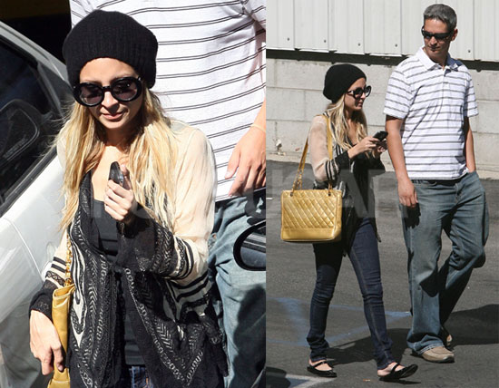 Nicole Richie Back at Traffic School