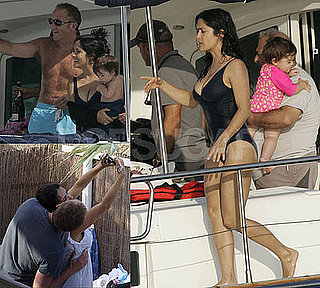 Salma Hayek Swimsuit Photos in Ibiza With Valentina and Francois-Henri Pinault