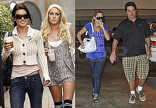 Photos of Lauren Conrad with Father, Audrina Patridge Out With Heidi Montag