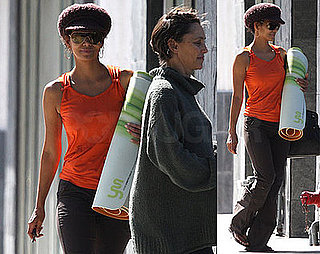 Photos of Halle Berry at Yoga Studio in West Hollywood