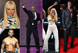 Photos of Christina Aguilera Performing, Seal Performing at Africa Rising Festival