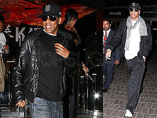 Photos of Jay-Z at Katsuya in LA After Visiting London