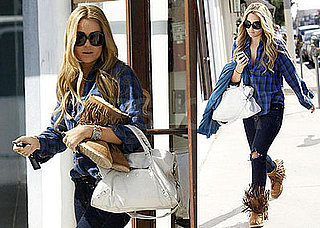Photos of Lauren Conrad Leaving the Salon in LA