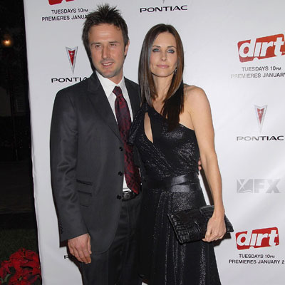 No. 7 David Arquette and Courteney Cox Arquette