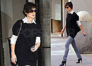 Photos of Katie Holmes, Who Might Be Back On Eli Stone, Out in NYC