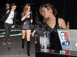 Photos of Lindsay Lohan and Samantha Ronson in Tokyo; Lindsay Lohan's Ugly Betty Guest Starring Role Cut Short