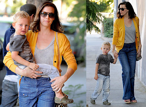Photos of Liv Tyler and Milo Langdon in LA