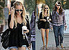 Photos of Nicole Richie Wearing Jean Shorts in LA