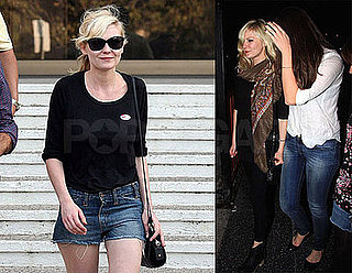 Photos of Kirsten Dunst and Justin Long Out in LA