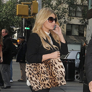 Jessica Simpson Out in NYC