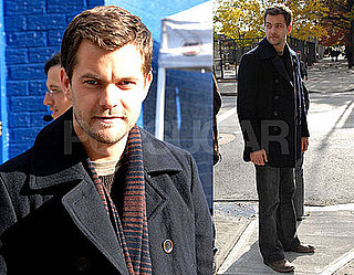 Photos of Joshua Jackson on the Set of Fringe