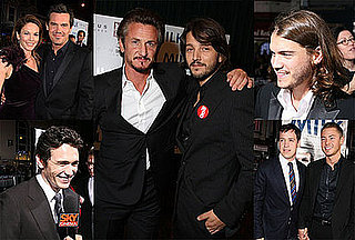 Photos of Milk Premiere in San Francisco and Exclusive Emile Hirsch Interview