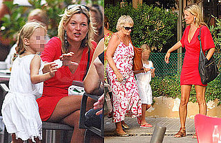 Photos of Kate Moss Having Ice Cream In Ibiza