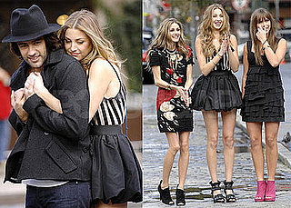Photos of Whitney Port Doing a Photo Shoot For The City