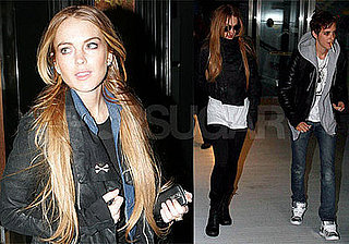 Photos of Lindsay Lohan and Samantha Ronson at JFK and Going to Citrine in New York City