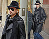 Photos of Brad Pitt and His Mustache in New York