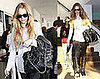 Photos of Lindsay Lohan and Samantha Ronson Smoking in LA