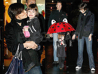 Katie and Suri Brighten Up a Rainy Day