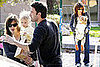 Photos of Pregnant Jennifer Garner, Ben Affleck, Violet Affleck at Palisades Park