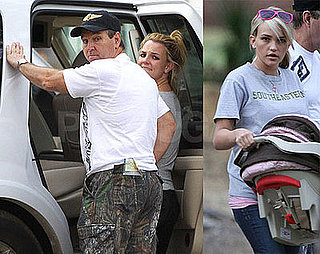 Photos of Britney Spears and Family in Louisiana, Leaked Mix of Clips From Circus Album, Kevin Federline Speaks About Jayden