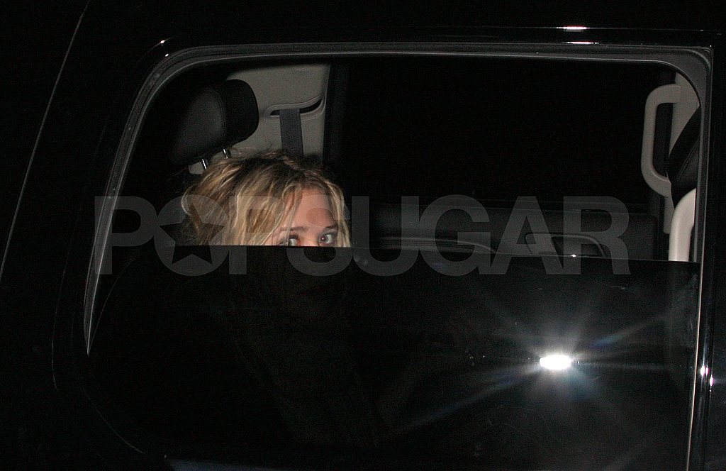 Mary-Kate and Ashley Leaving LAX