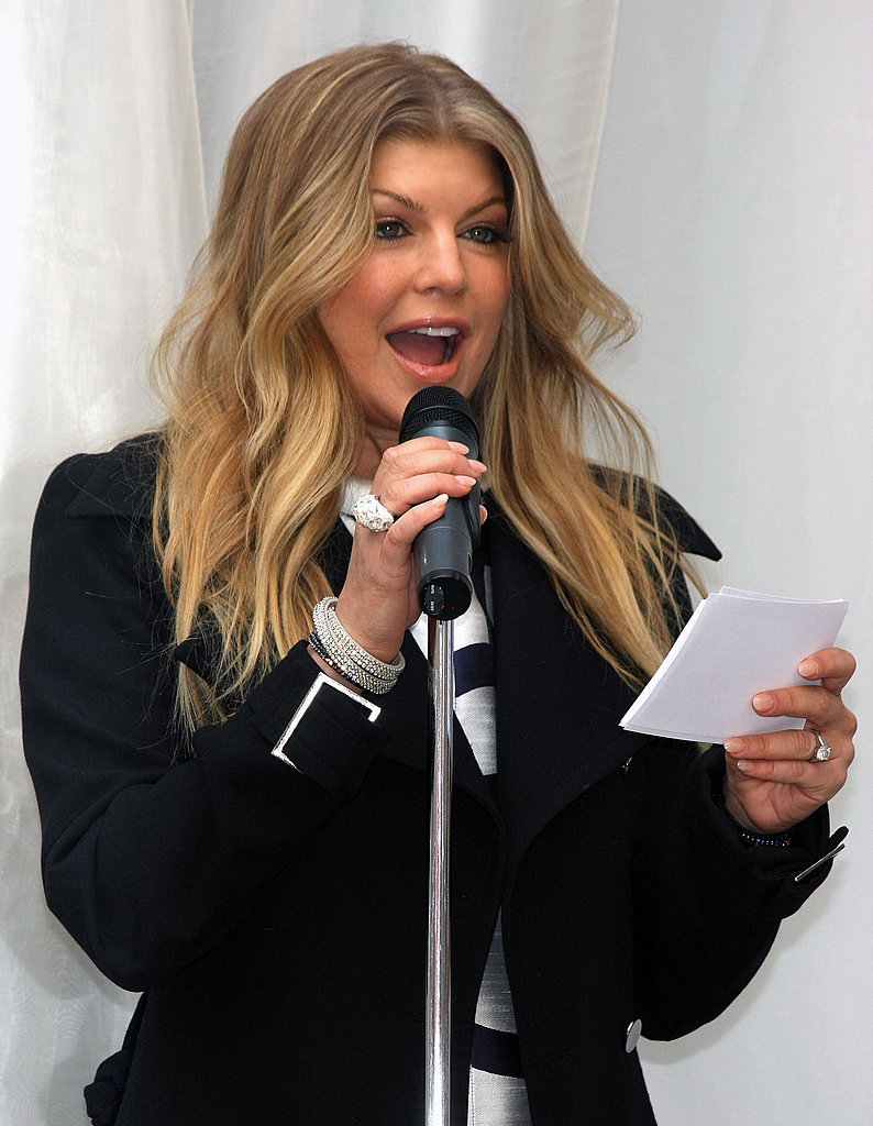 Fergie Out in NYC