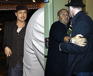 Photos of Brad Pitt Getting Into Tussle With Bodyguard in LA