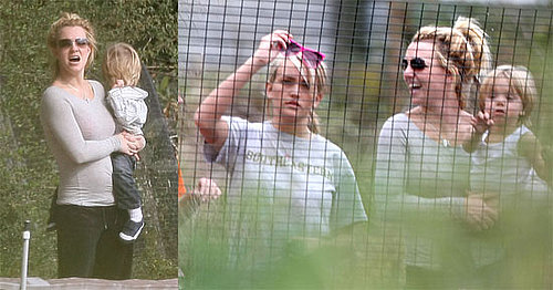 Photos of Britney Spears and Her Son Jayden James Out of Hospital at Alligator Farm