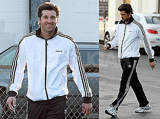 Photos of Patrick Dempsey Taking Out Recycling in LA