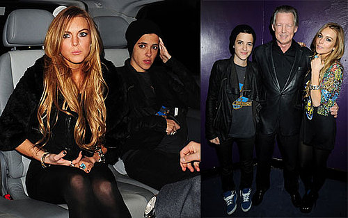 Photos of Lindsay Lohan and Samantha Ronson at Chinawhite Nightclub in London