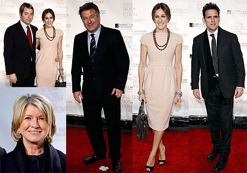 Photos of Robert F. Kennedy Bridge Dedication Gala, Sarah Jessica Parker, Matthew Broderick, Steve & Barry's Liquidating Bitten