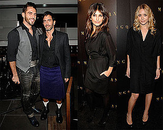 Photos of Ashley Olsen, Monica Cruz, Solange Knowles, Marc Jacobs at Mango Relaunch