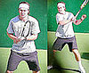 Photos of Gavin Rossdale Playing Tennis