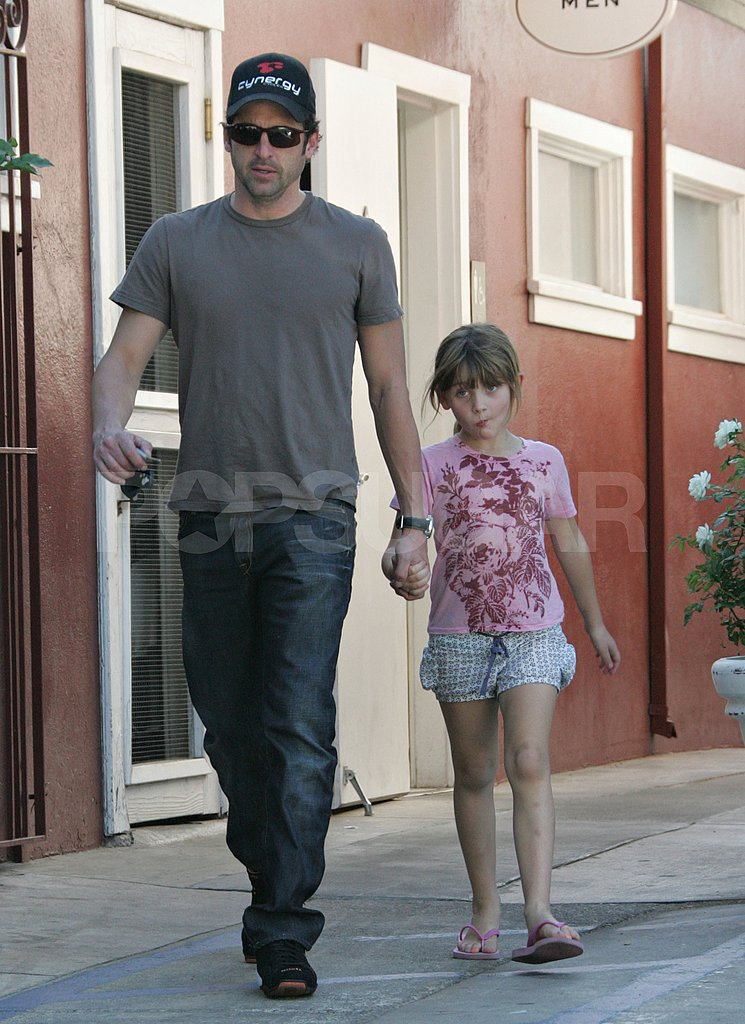 Patrick Dempsey's Father Daughter Day Out | POPSUGAR Celebrity