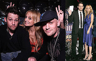 Photos of Nicole Richie and Joel Madden at the 2008 UNICEF Snowflake Lighting