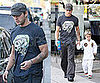 Photos of Ryan Phillippe Taking Deacon Phillippe to Karate Class
