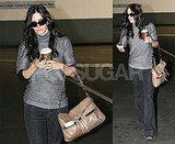 Courtney Cox with Coffee
