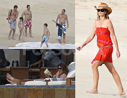 Photos of Cindy Crawford In a Bikini and On the Beach in Mexico With Rande Gerber and Her Family