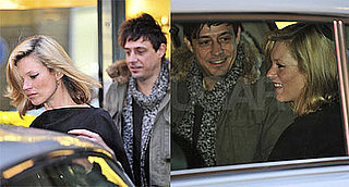Photos of Kate Moss and Jamie Hince Out in London After Stella McCartney's Holiday Party