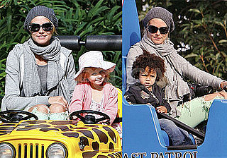 Photos of Heidi Klum, Leni Klum, Johan Samuel on His Second Birthday in Legoland