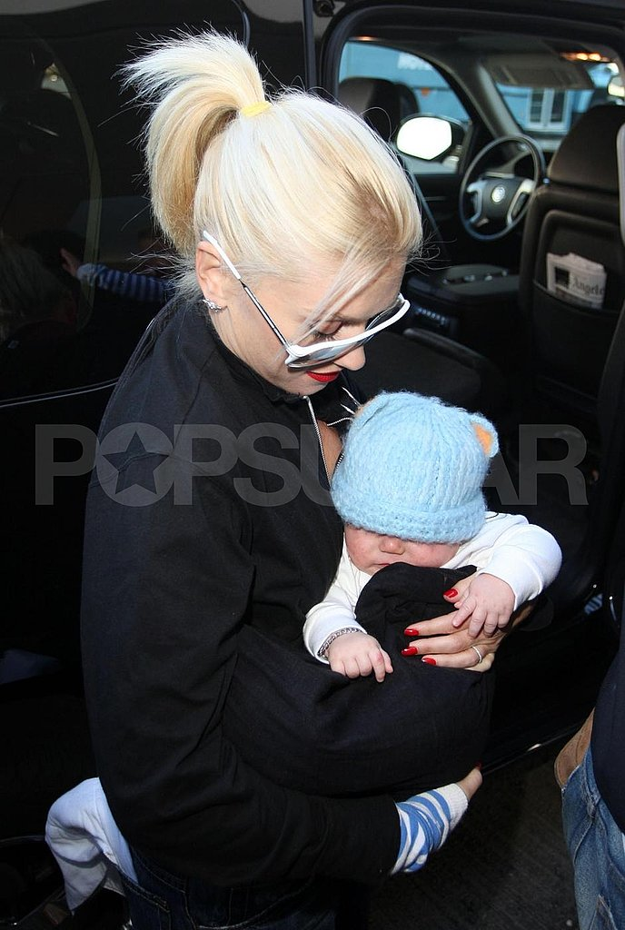 Gwen and the Boys at the LAX
