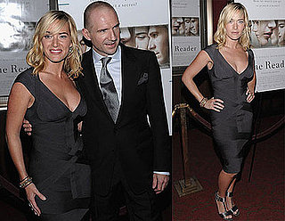 Photos of Kate Winslet in Herve Leger Dress at The Reader Premiere in NYC