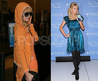 Photos of Paris Hilton Promoting Fairy Dust at Macy's in New Jersey