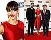Photos of Jessica Alba and Cash Warren at Red Carpet For 2009 Campari Calendar